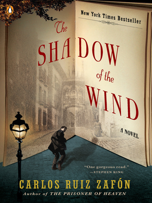 Title details for The Shadow of the Wind by Carlos Ruiz Zafon - Wait list