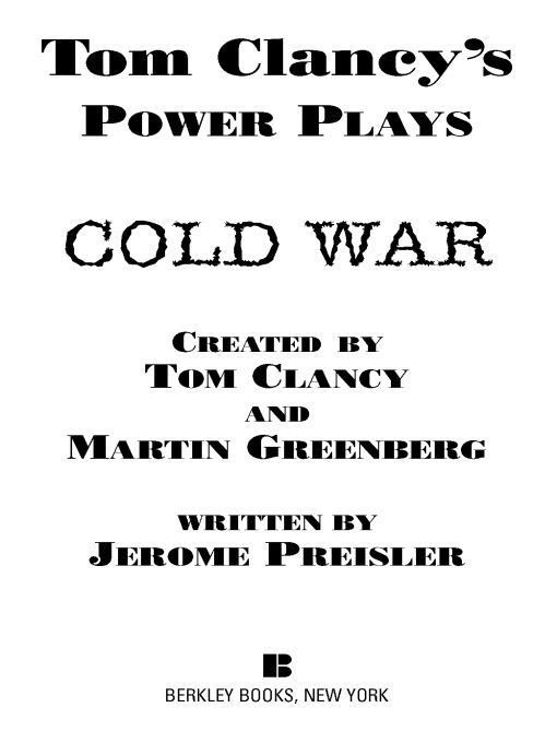 Title details for Cold War by Tom Clancy - Wait list