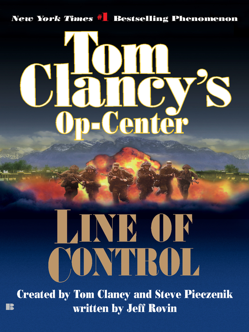 Title details for Line of Control by Tom Clancy - Available