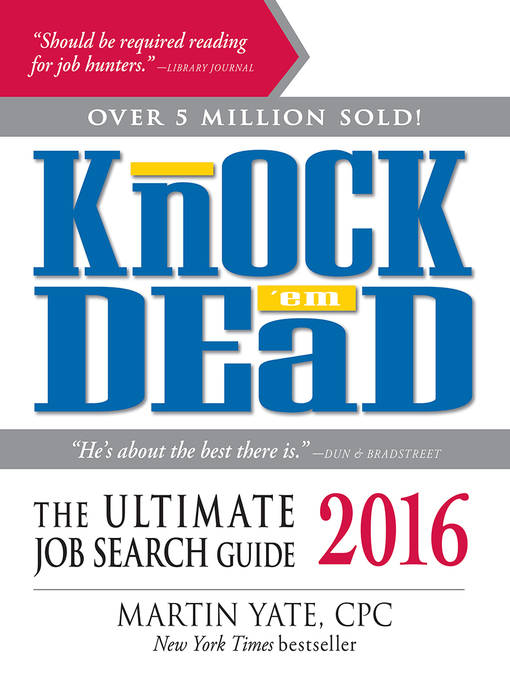 Title details for Knock 'Em Dead 2016 by Martin Yate - Available