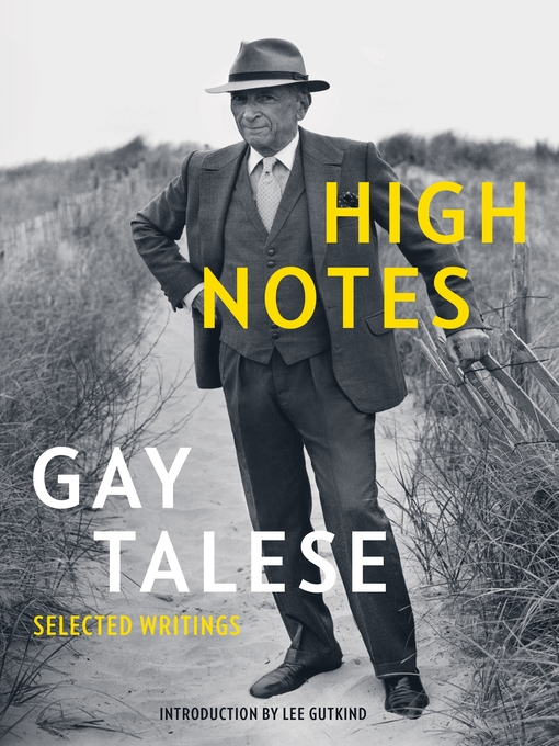 High notes : selected writings