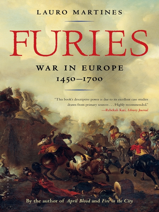 Title details for Furies by Lauro Martines - Wait list
