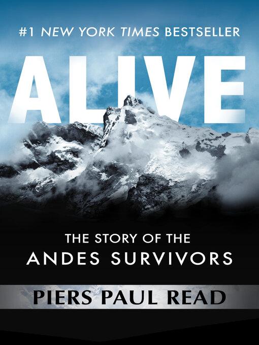 Title details for Alive by Piers Paul Read - Wait list