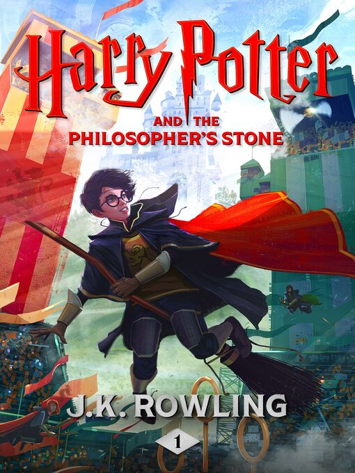 Cover image for Harry Potter and the Philosopher's Stone