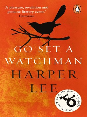Go Set a Watchman by Harper Lee.                                              AVAILABLE eBook.