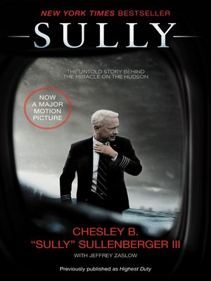 Sully by Captain Chesley B. Sullenberger, III.                                              WAIT LIST eBook.