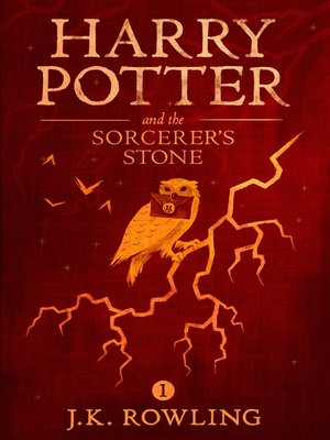 Harry Potter and the Sorcerer's Stone by J.K. Rowling.                                              AVAILABLE eBook.